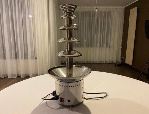 Šokolādes fontāns